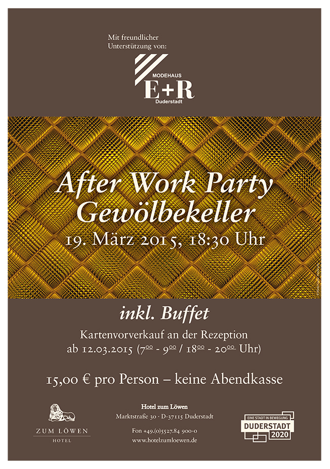 After Work Party - Plakat